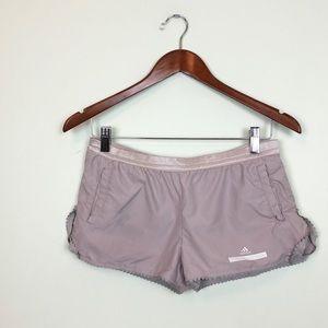 Adidas by Stella McCartney tan shorts size XS